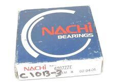 FACTORY SEALED NACHI 6207ZZE-C3 BEARING 6207ZZE