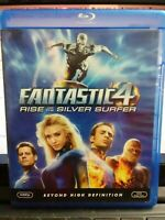 The Fantastic Four: Rise of the Silver Surfer (Blu-ray Disc, 2007)