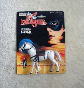 The Legend of the Lone Ranger - Silver Stallion Figure (1980, Gabriel) Superb!