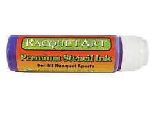 Racquet Art Premium Stencil Ink - Water Based - Purple