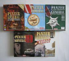 Panzer General / Pazifik Admiral - PC Spiele Sammlung - Bigbox - SSI - selten