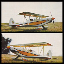 Acro-Star Aerobatic Sport Biplane Plans, Templates and Instructions 51ws