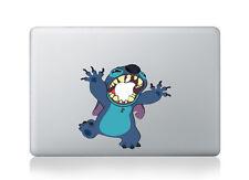 Macbook 13 inch decal sticker Stitch happy Apple art for Apple Laptop
