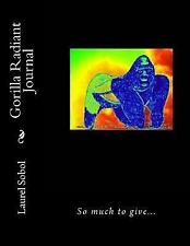 Indigenous Animals and Places Global: Gorilla Radiant Journal by Laurel Sobol.