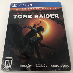 Shadow of the Tomb Raider Limited Steelbook Edition ( Sony PS4 ) NEW