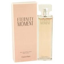 Calvin Klein Eternity Moment Perfume 3.4oz Eau De Parfum MSRP $82 NIB