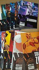 Alternative Comic lot BOOM COMICS starborn 1-12 soldier zero 1-12 nm bagged