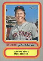 2019 Topps Heritage Baseball Flashbacks #BF-TS Tom Seaver New York Mets