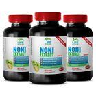 noni fruit - NONI EXTRACT 500mg - antidepressant effects 3 Bottles 180 Capsules
