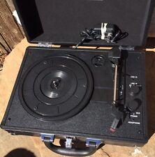 Victrola 3-Speed Vintage Bluetooth Suitcase Turntable Vinyl Record Player