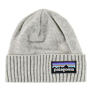 Patagonia Mens - Brodeo Beanie - P-6 Logo Drifter Grey
