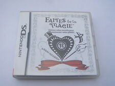 jeu nintendo DS faites de la magie