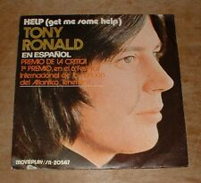 TONY RONALD get me some help*once upon a time 1971 SP MOVIE PLAY PS 45