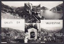 BRESCIA VALVESTINO 02 SALUTI da... ARMO TURANO BOLLONE Cartolina FOTOG viag 1967