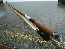 BTS!! Violin Bow Octagonal size 1/4 - Entry Level Quality B-wood Ebny Frog