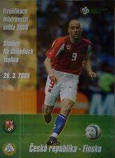 Programm LS 26.3.2005 Czech Republic - Finnland