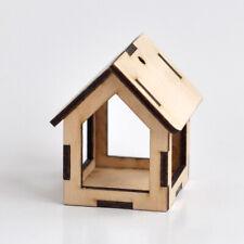 Wild Bird Hanging Feeder, Wooden Native Bird House Feeder, Idea Gift Present