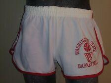 Vintage 1970's NOS Washington State Cougars Basketball Shorts Champion Mens L