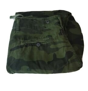 G Star Rovic Extra Loose Tapered Mens Cargo Pants W30 L32 Camouflaged 30R Camo