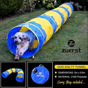 Dog Agility Tunnel Zuerst Training Fitness (Competition Full Size)  Equipment