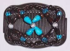 """Double Magic Hair Comb, Angel Wings Clips 4x3.5"""",African Butterfly Quality, MS18"""