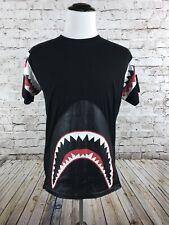Bleecker & Mercer Shark T-Shirt Size M Black Short Sleeve Men's Graphic