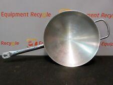 """Cooktek Induction Wok Saute Pan 14"""" Stainless Steel Cookware Restaurant"""