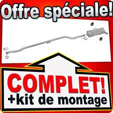Citroen Saxo Peugeot 106 1.1 1.4 2000-04 Ligne pot D'échappement Silencieux 220