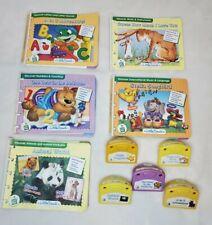 Lot of 5 LeapFrog Little Touch Infant Toddler Cartridges & Books Alphabet Music