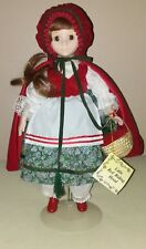 Show Stoppers  Little Red Riding Hood Storybook Series Brown Eyes,Red Brown MINT