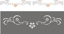 Friesranke 1 - Wandschablone;Malerschablone;Stupfschablone;Wandfries;Wanddekor
