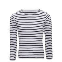 Brand New With Tags Women's  long sleeve T-Shirt , French , Nautical 100% Cotton