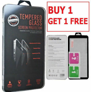 Tempered Glass SCREEN PROTECTOR iPhone 12 11 PRO MAX Mini X, XR, XS, CASE COVER
