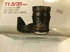 Samyang 35mm T1.5 Aspherical NEW Lens AS MULTI COATED for SONY A MOUNT CAMERAS
