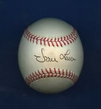 Vern Law Autographed Official National League Ball Pittsburgh Pirates