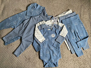 BNWT Next Baby Boys Sleepsuit, Dungarees, Bodysuits And Leggings Set 9-12 Months