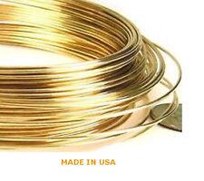 3 Feet Solid 14K Yellow Gold 30 Gauge Round Wire Half Hard Brand New