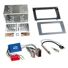 DOUBLE-DIN kit d'installation Radio voiture+Blende+Panier pour AUDI A4 B6/B7