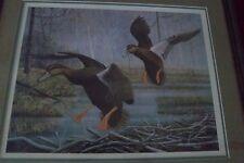 Artist Griff Geese signed 1987  Framed Print