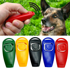 5/10/20pcs Dog Training Clickers&Whistle Pet Obedience Behaviour Agility Trainer