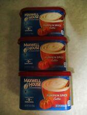 3 PK Maxwell House International PUMPKIN SPICE LATTE INSTANT COFFEE MIX