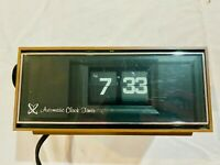 Vintage Flip Clock Automatic Clock Timer  WORKING