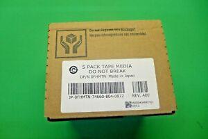 New Dell 5-pack Tape Data Cartridge 1.5 TB/3.0 TB Ultrium 5 LTO FHMTN