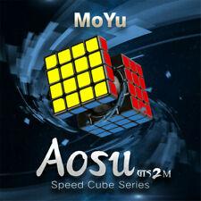 2019 MoYu Aosu GTS2M 4x4x4 Magnetic Magic Cube Speed Cube Puzzle Toys black