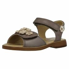 Calzado de niña sandalias de piel color principal marrón