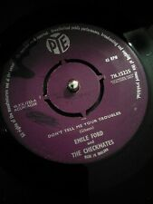 """Emile Ford And The Checkmates Don't Tell Me Your Troubles Vinyl 7"""" Single 1959"""