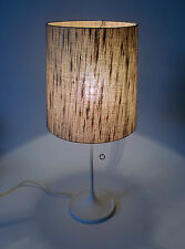 60s mesa lámpara de fibra óptica lámpara Table lamp Tulip base probablemente emperador annees 60