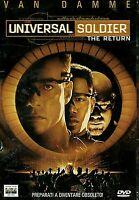 UNIVERSAL SOLDIER - THE RETURN (1999) Jean‑Claude Van Damme DVD EX NOLEGGIO