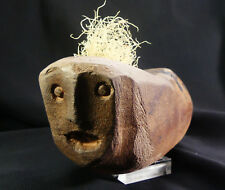 RARE Ancient Native American Shaman's Stone Human Effigy Pipe! Fort Ancient,Ohio