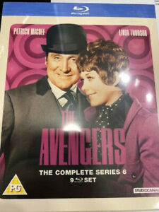THE AVENGERS THE COMPLETE SERIES 6 BLU RAY